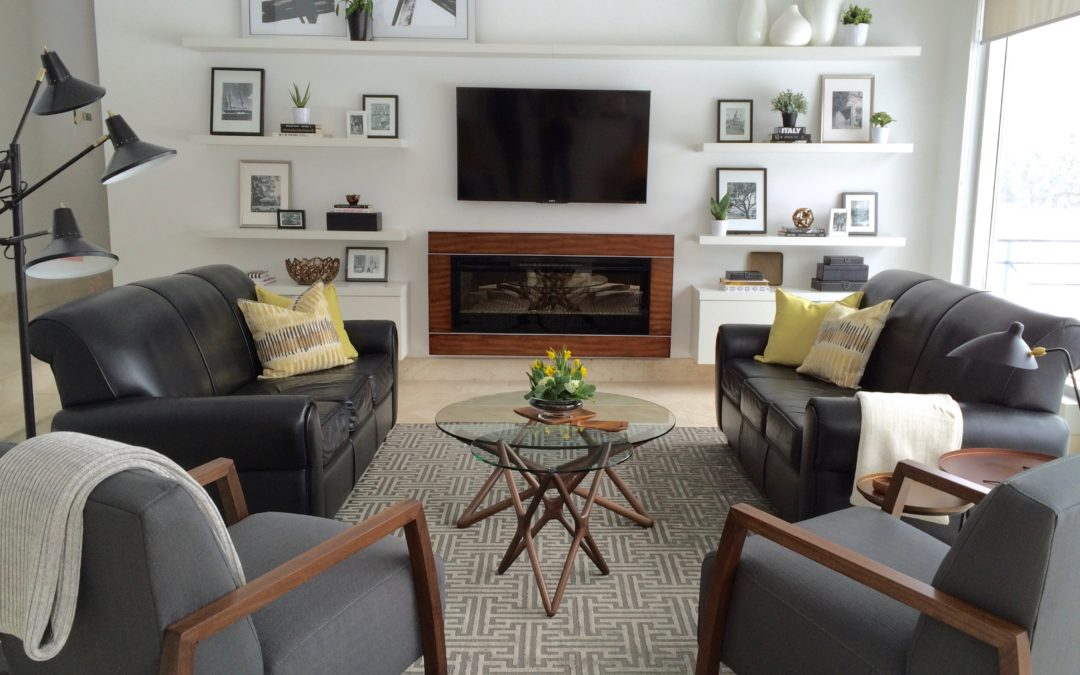 Contemporary Family Room