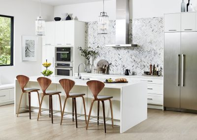 Kitchen overall-Island styled